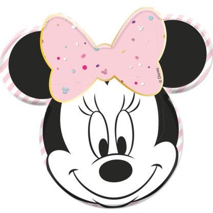 4 Juwelen Minnie Mouse Teller 31,5cm