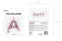 Vorschau: Folienballon A roségold 35cm