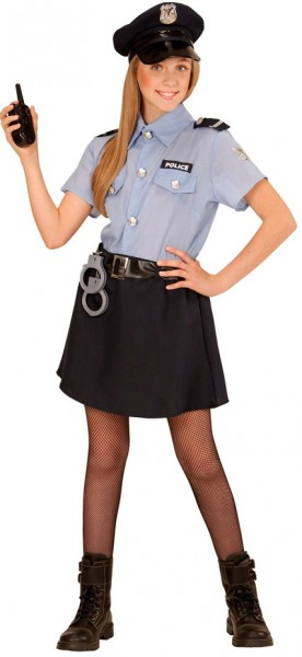 Police Girl Kinderkostüm