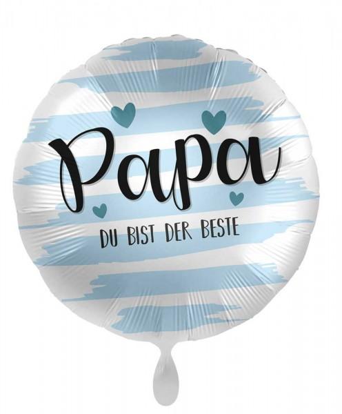 Papa Du bist der Beste Folienballon 71cm
