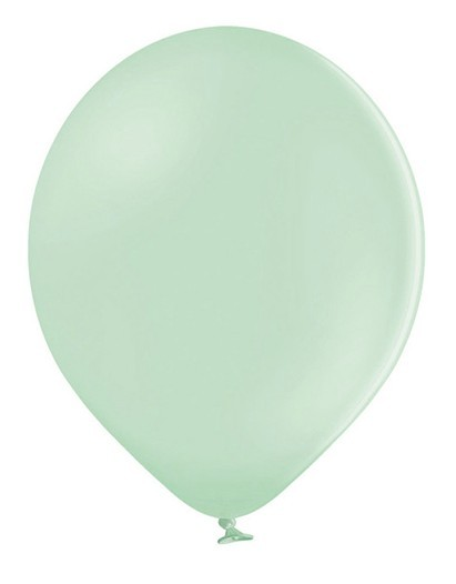 10 party star pistachio balloons 30cm