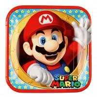 8 Super Mario Pappteller 23cm