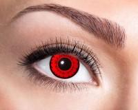 Roter Teufel Jahres Kontaktlinse