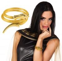 Goldenes Zassini Schlangen Armband