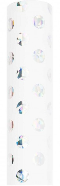 Holographic dots wrapping paper
