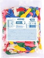 XXL Vorratspack 250 Luftballons bunt
