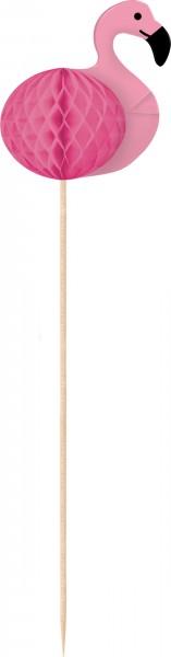 10 pinchos Flamingo Paradise 16.5cm