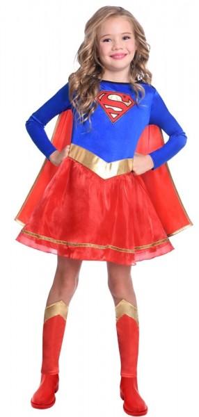 Supergirl licensed costume for girls