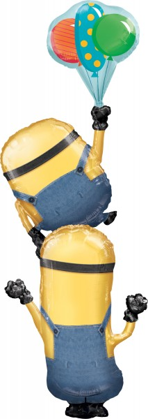 Minions stack of foil balloon 101 x 154cm