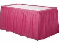 Tischumrandung Mila pink 4,26m x 73cm