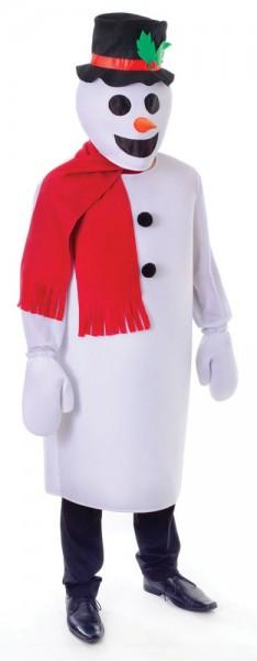 Hubi the snowman men's costume