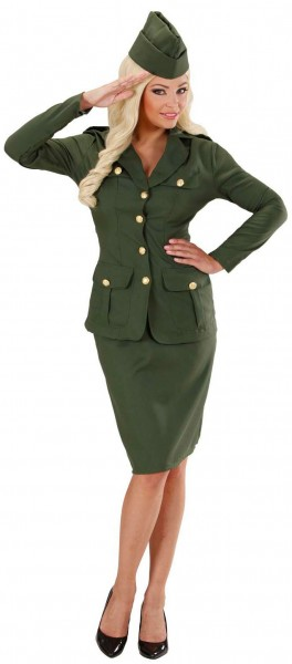 Mila Militär Damenkostüm