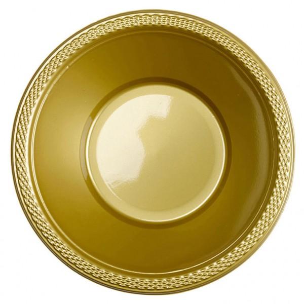 10 bandejas de buffet de oro de oro 355 ml