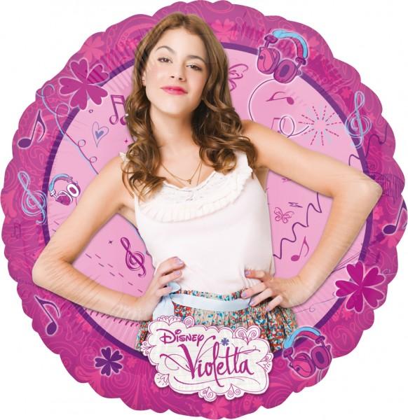 Runder Folienballon Violetta