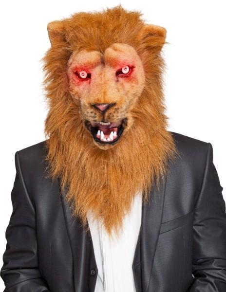 Premium Löwenmaske Mit Bewegungs- & Leuchteffekt