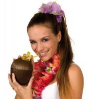 Kokosnuss Becher Aloha Hawaii 13cm