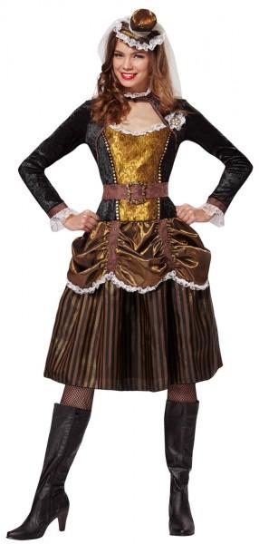 Steampunk Lady Damenkostüm 1