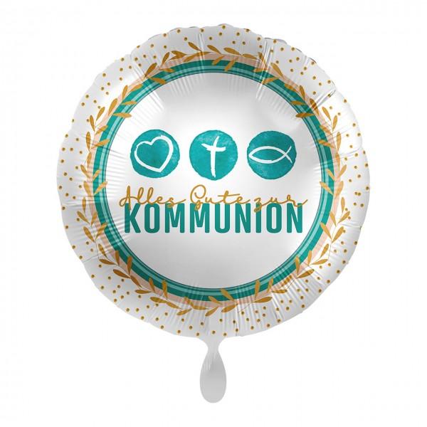 Communion foil balloon symbols 43cm