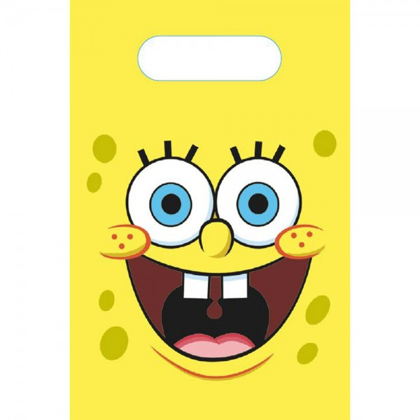 8 Spongebob Geschenktüten