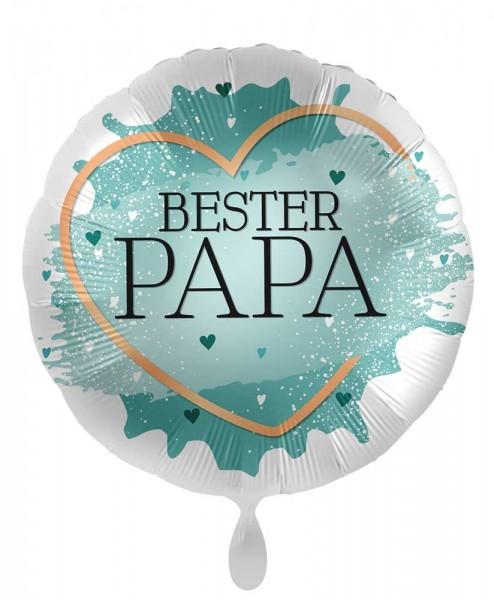 Bester Papa Folienballon 45cm
