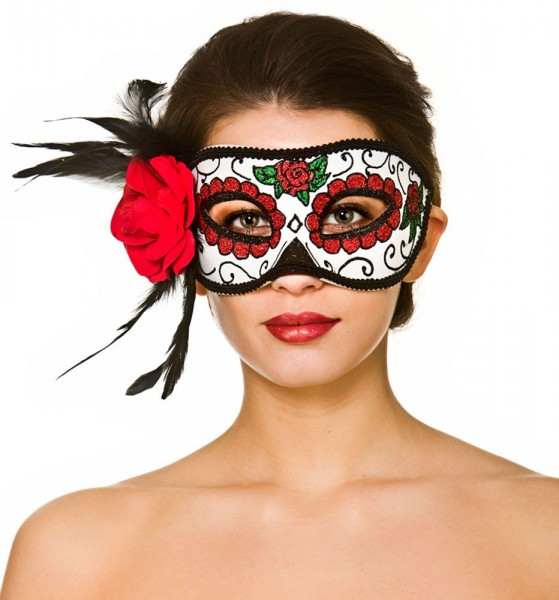 Theresa Day Of The Dead Eye Mask