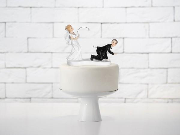 Figura pastel novio pescando novia 13cm