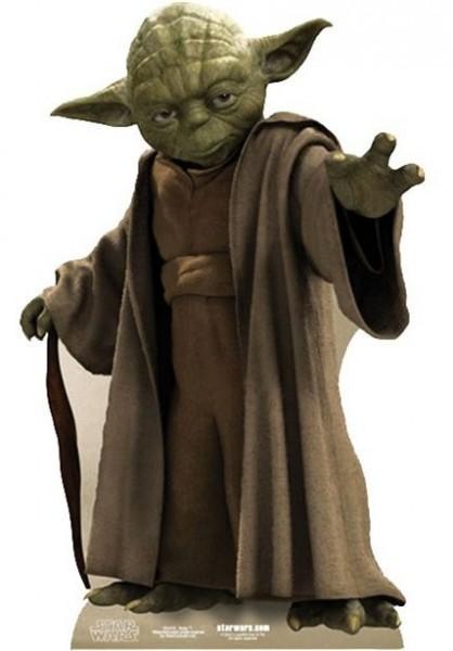Yoda Star War Pappaufsteller 76cm