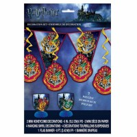 Harry Potter Hogwarts Deko Set 7-teilig
