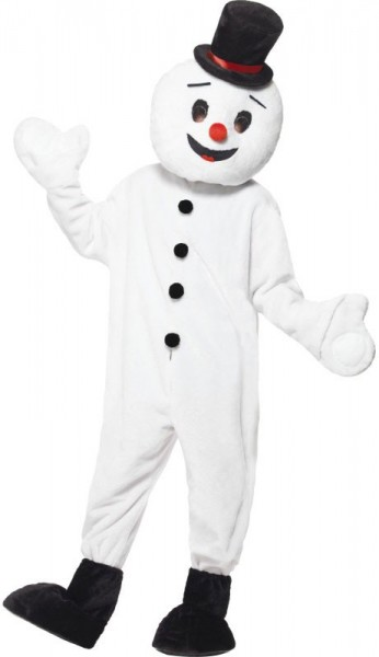 Icy Snowman mascot costume