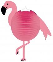 Flamingo Paradise Laterne 41 x 45cm