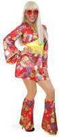 Flower Power Hippie Kostüm Mit Beinstulpen