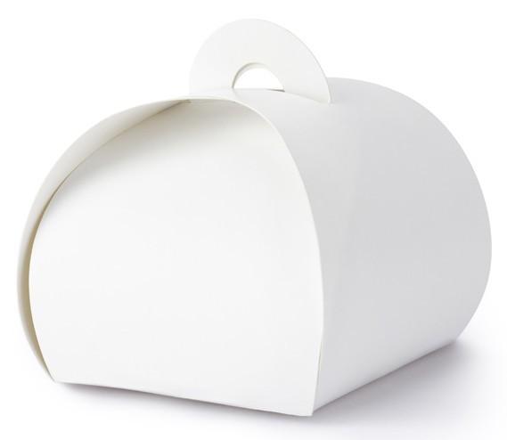 10 coffrets cadeaux blancs 6 x 6 x 5,5 cm