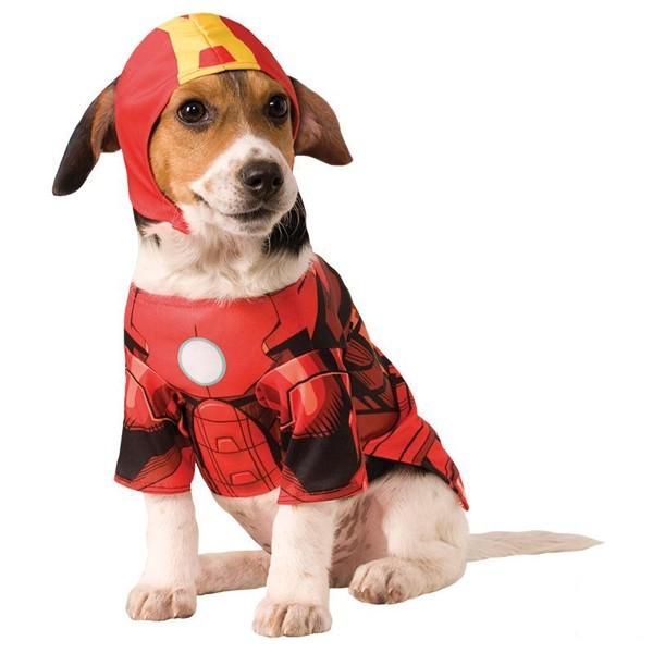 Iron Man Hundekostüm