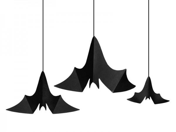 3 Pipistrelli da appendere Halloween