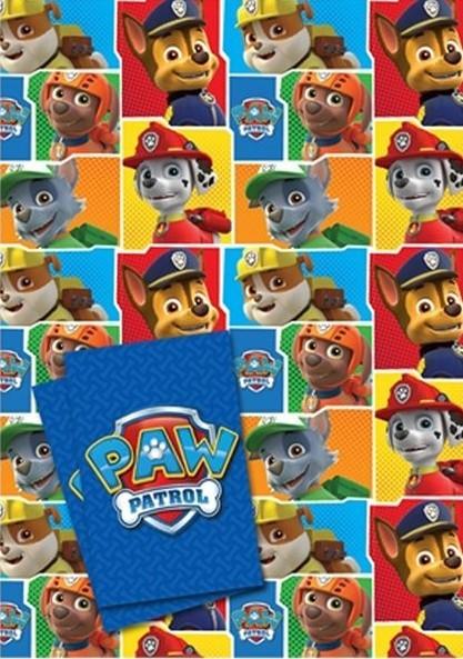 Paw Patrol Bande Geschenkpapier