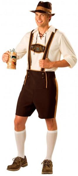 Tradycyjny strój bawarski dla mężczyzn