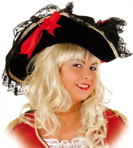 Seebraut Jane Piratenhut