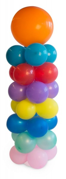 9-part balloon column