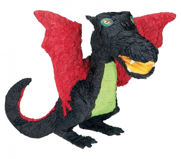 Black Dragon Kids Birthday Pinata 56cm