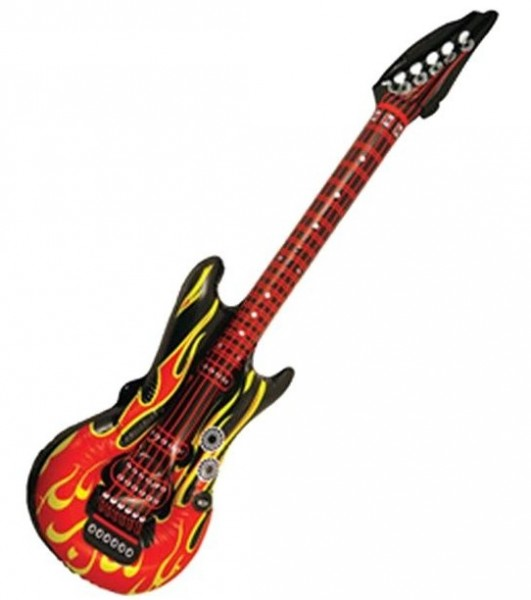 Aufblasbare Hot Rhythm Gitarre 1,06m