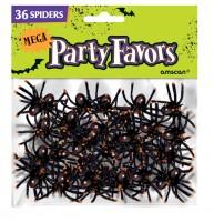 36 Spooky Tischdeko Spinnen