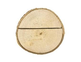 6 Platzkartenhalter aus Holz 2cm