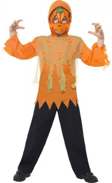 Kleines Halloween Kürbis Kinderkostüm