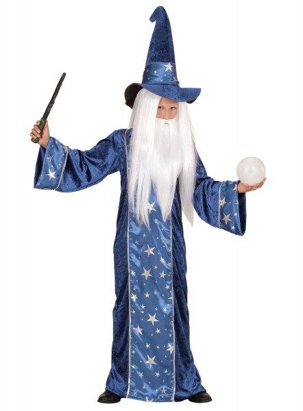 Magic Wizard Child Costume