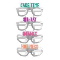 12 Birthday Vibes Pappbrillen