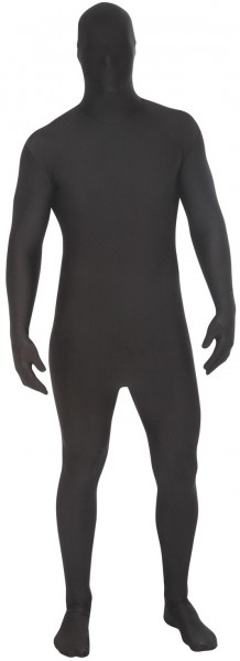 Plain black morphsuit