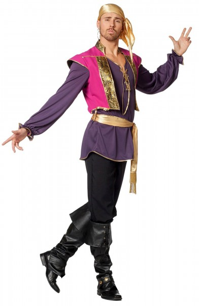 Glamouröses Zirkusdirektor Kostüm