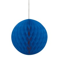 Ozeanblauer Wabenball 20cm
