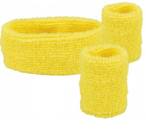 3 teiliges Schweißarmbänder Set