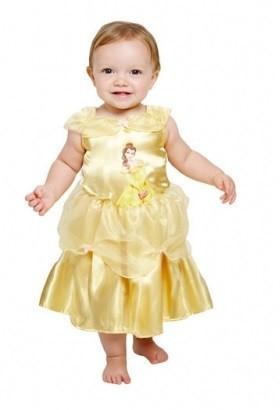 Süßes Goldenes Babykleid Belle